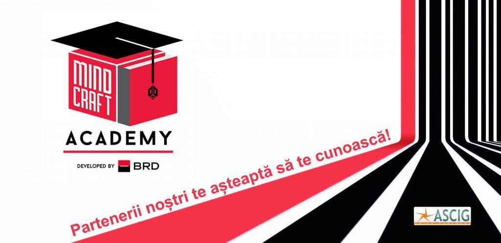 VINO LA «MINDCRAFT ACADEMY BY BRD»!