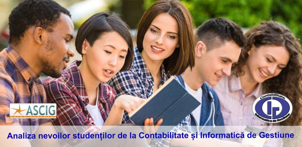 ANALIZA NEVOILOR STUDENȚILOR DE LA CONTABILITATE ȘI INFORMATICĂ DE GESTIUNE